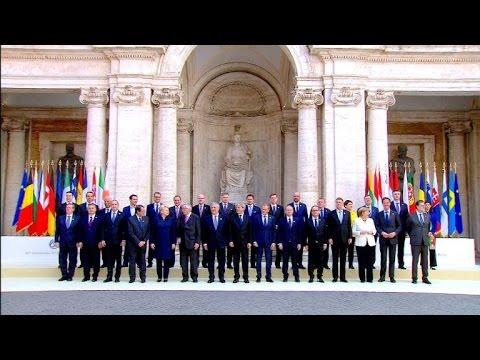EU-Jubiläumsgipfel zum 60. Jahrestag der Römischen Verträge