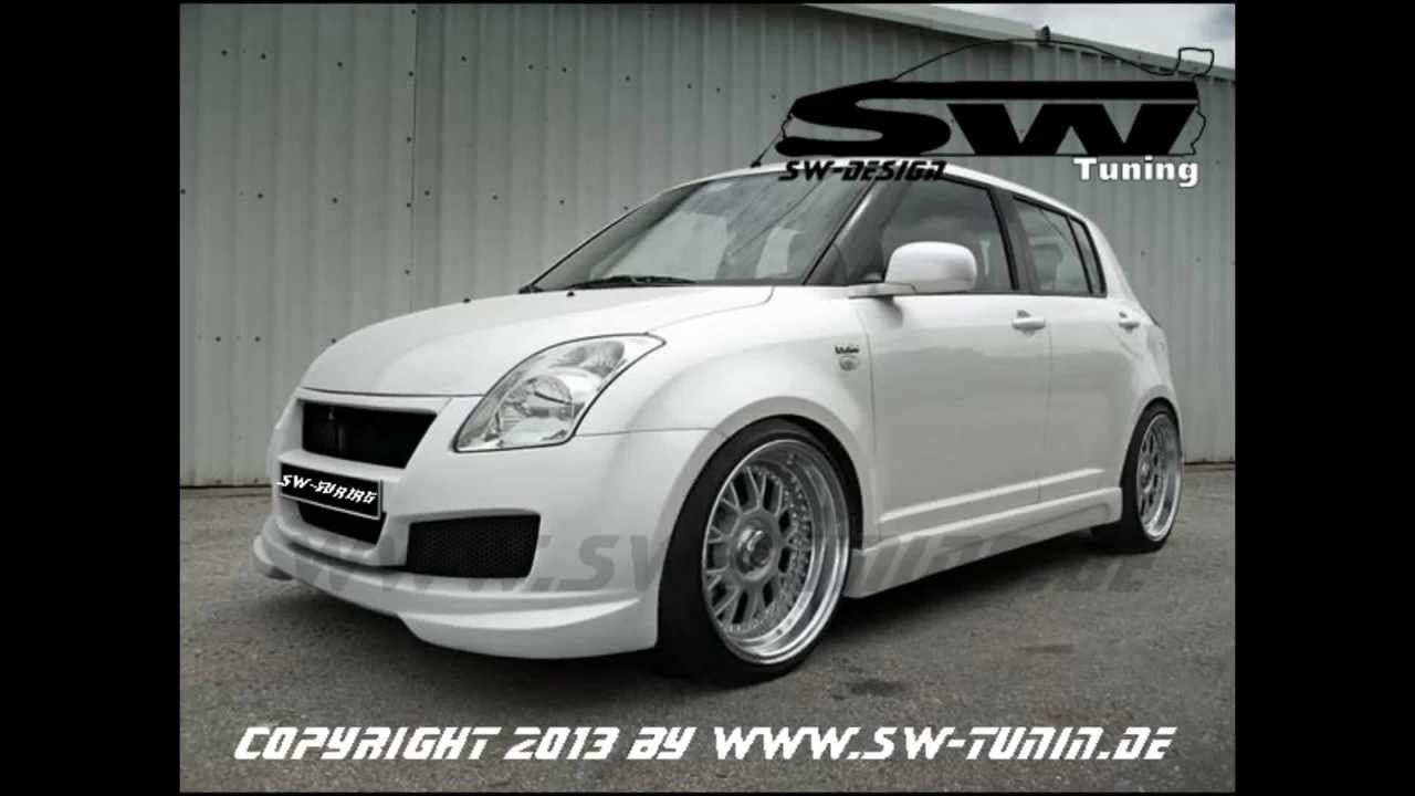 bodykit f r suzuki swift mz ez sw look powered by sw