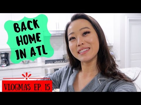 Being Back Home Is Nice? [VLOGMAS #15]