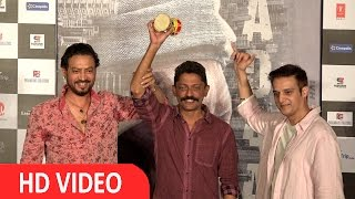 Irrfan Khan & Nishikant Kamat At Song Launch Of Film Madaari