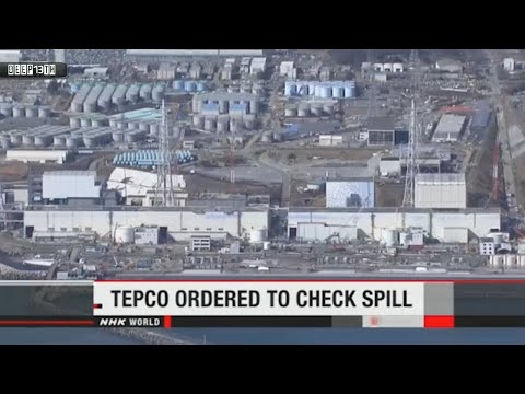 Nuclear Watch: Fukushima Tepco check the spill + Rad level jumped x2 in seawater 3/5/2015