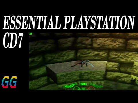 PS1 DEMO Essential Playstation CD 7 1997
