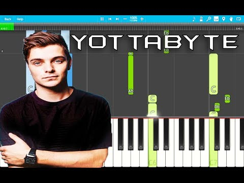 Martin Garrix - Yottabyte PIANO Tutorial EASY (Piano Cover)