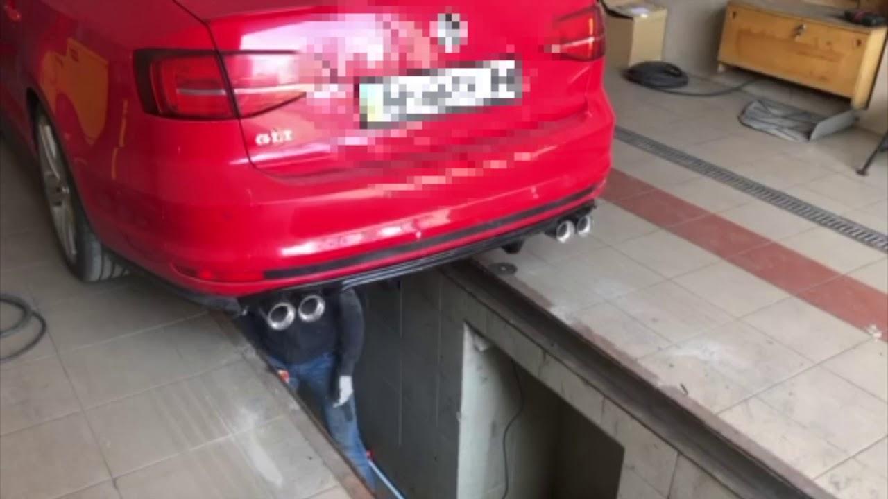 jetta gli dual exhaust with custom