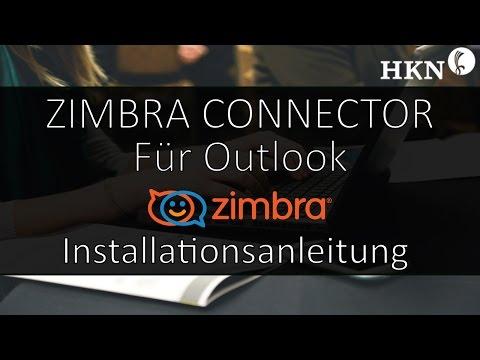 Zimbra Connector for Outlook (ZCO) - Installationsanleitung