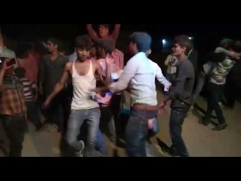 Jagdishpur holi dance 13march  2017 buxar mahabir asthan