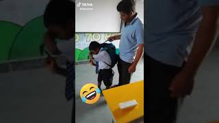 # funny indian school bag weight