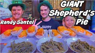 UNDEFEATED IRISH FOOD CHALLENGE WITH RANDY SANTEL | MASSIVE FOOD CHALLENGE | MAN VS FOOD | GEORGIA