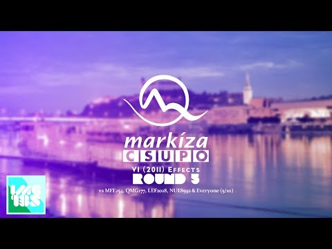 TV Markíza Csupo V1 (2011) Effects Round 5 vs MFE254, QMG177, LEF2018, NUE8592 & Everyone (5⁄10)