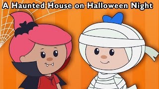 Monster Party | A Haunted House on Halloween Night + More | Mother Goose Club Phonics Songs