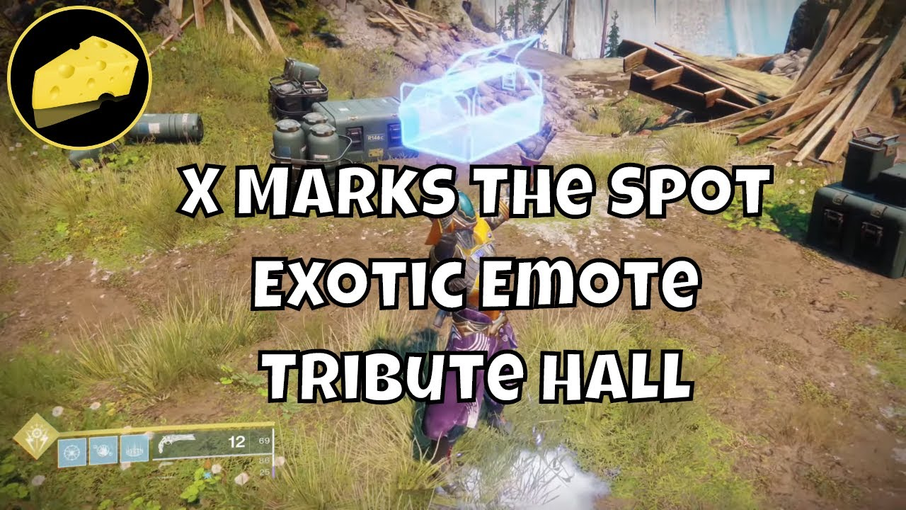X Marks The Spot Exotic Tribute Hall Emote