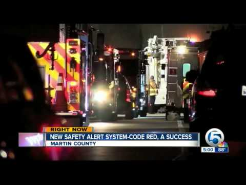 "CodeRED emergency notification system use ""success"" during propane gas leak evacuation"