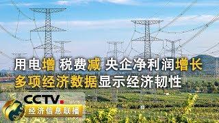 《经济信息联播》 20190716  CCTV财经
