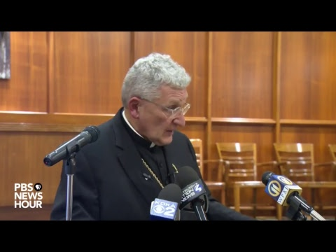 WATCH LIVE: Pittsburgh Catholic Diocese responds to grand jury investigation into clergy abuse