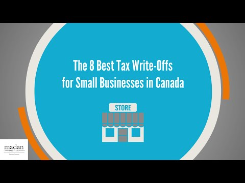 The 8 Best Tax Write Offs for Small Businesses in Canada