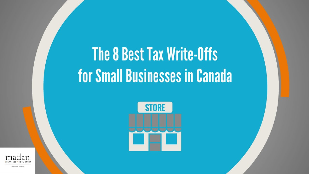 What are the tax write-offs for a small business in Canada?