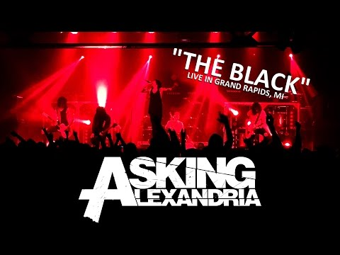 "Asking Alexandria ""The Black"" live in Grand Rapids, MI 5/18/2016"