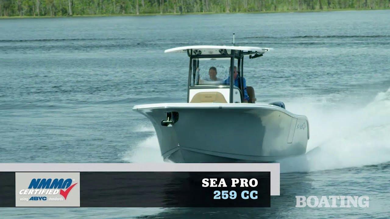 Boat Buyers Guide: 2019 Sea Pro 259 CC - YouTubeYouTube