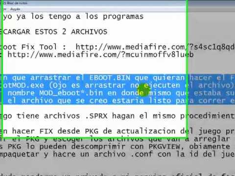 CREAR TUS PROPIOS FIX PARA PS3 FUNCIONA 100% by elfortiiin