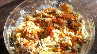 """Салат""""Клязьма» ( как готовить)"""