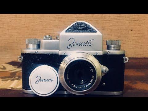 Моя небольшая коллекция фотоаппаратов Зенит СССР часть 11