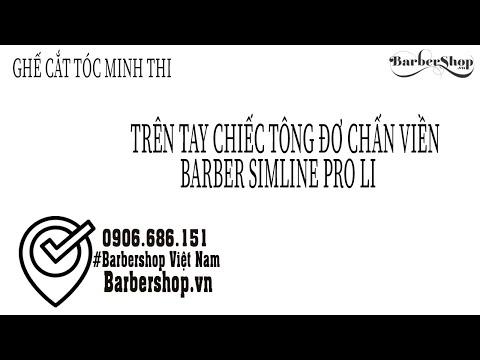 Trên Tay Chiếc Tông Đơ Chấn Viền Barber Simline Pro Li