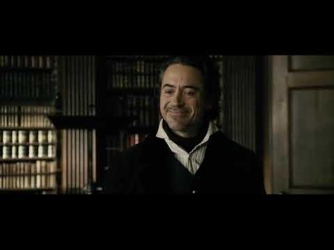 Шерлок Холмс  Игра теней Первая встреча Шерлока Холмса и профессора Мориарти