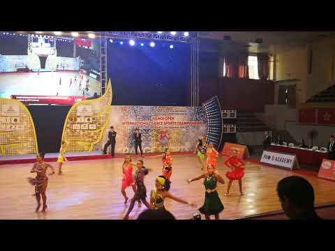 Hanoi Open International Dancesport Championship 2018-Junior Solo Cha Cha Semifinal-23/9/18-Chloe Iu