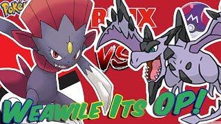 Weawile seine OP! [Roblox] Pokemon Ziegel Bronze - PvP-Schlachten.