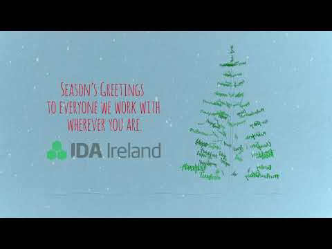 Seasons Greetings from IDA Ireland 2018