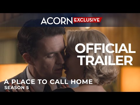 Acorn TV Exclusive | A Place To Call Home Season 5 Trailer | Premieres 11/23/17
