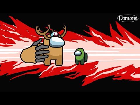 Among Us Kill Animations - ONE PIECE Straw Hat Pirates 어몽어스 킬 모션 원피스