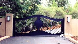Sculptural Gates - Ornamental Iron Driveway Gate Company