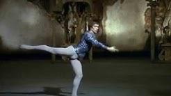 "1/2 Rare.  Rudolph Nureyev performing solo in act 1 of ""Swan Lake""."