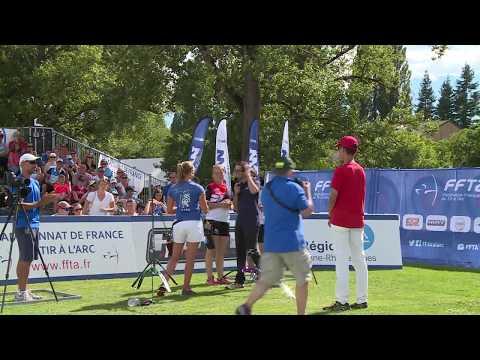 Picqart-  Barbelin Or CFCL | Championnat de France FITA Jeunes Vichy 2017