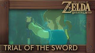 Zelda Breath of the Wild - Trial of the Sword (Beginning Trials)