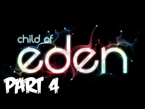 Child of Eden Walkthrough - Part 4 [Passion] - Let's Play (Gameplay & Commentary)