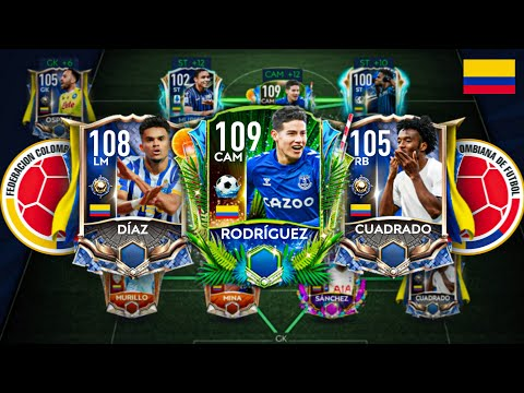 All 100+ Full Colombia Squad builder!! Best Ever Colombia Squad!!! FIFA Mobile 21