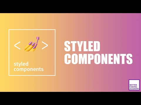 Learn Styled Components In 15 Minutes! | React Tutorials thumbnail