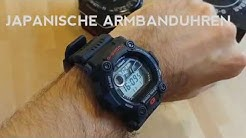 """G-RESCUE """"Die Uhr für die Winterzeit"""" Casio G-SHOCK G-7900-1ER deutsch"""