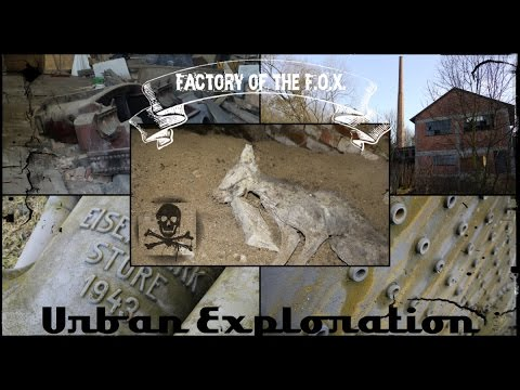 Lost Place XYZ Part 117 - Factory of the F.O.X (Urban Exploration)
