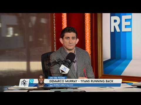 Titans RB DeMarco Murray Says Marcus Mariota Is Too Quiet in the Huddle Sometimes - 12/2/16