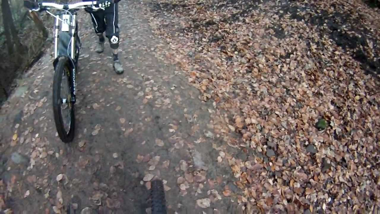 Download Macclesfield forest DH Top section chase camera GoPro HD