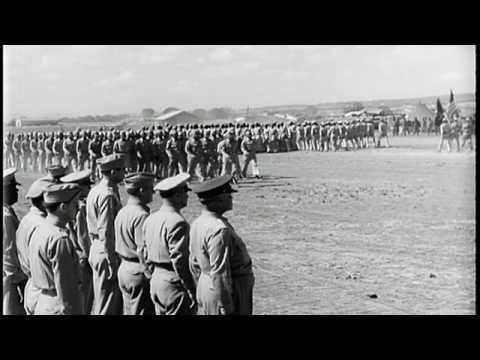 World War II Red Tail Ceremony with Benjamin O. Davis Senior