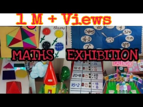 Ideas for MATHS EXHIBITION