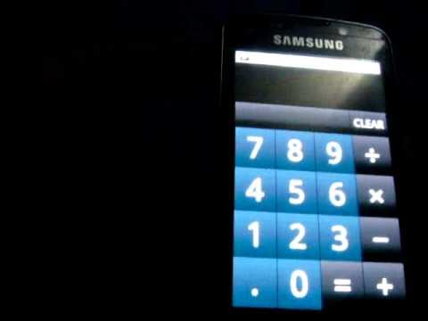 Android (Beta Eclair 2.1) Samsung Omnia B7610 1/21/11