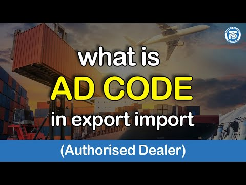 What Is AD Code || Export Import Business In India || Export Import Bank