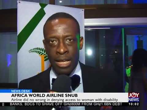 Africa World Airline Snub - News Desk on Joy News (16-5-18)