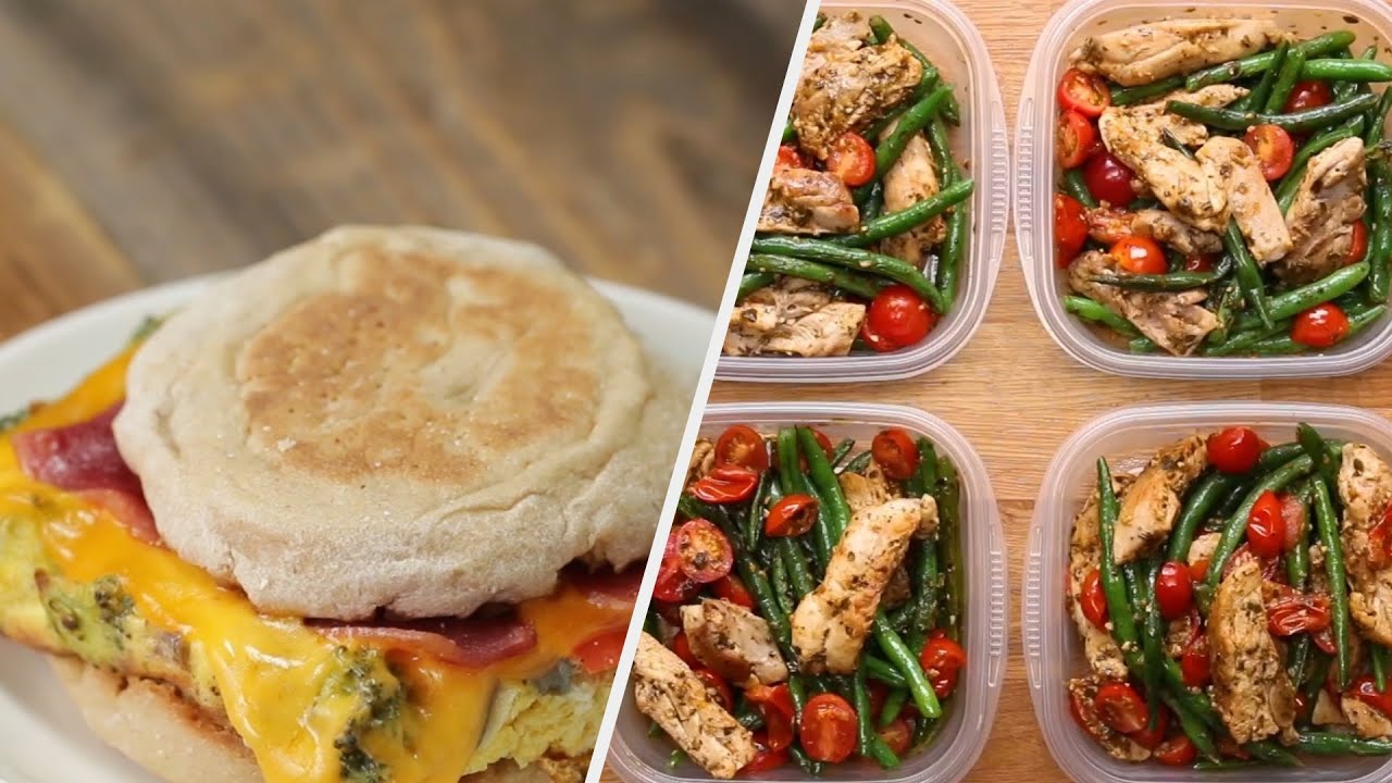 The Only Meal Prep Guide You Need To Follow Tasty Youtube