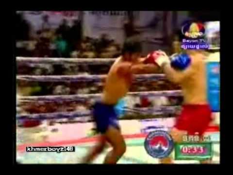 Khmer boxing - Long Sovandoeun Vs. Keo Rumchong
